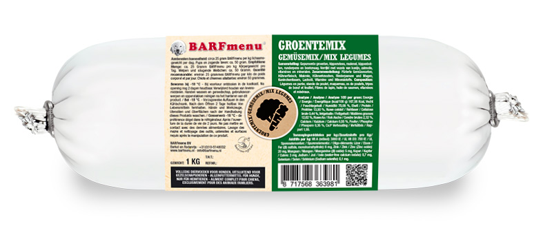 BARFmenu® - Groentemix