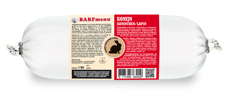 BARFmenu® - Konijn