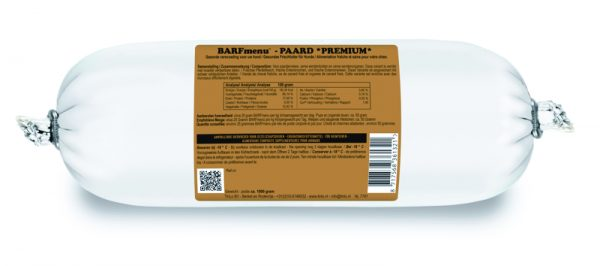 BARFmenu® - Paard *Premium*